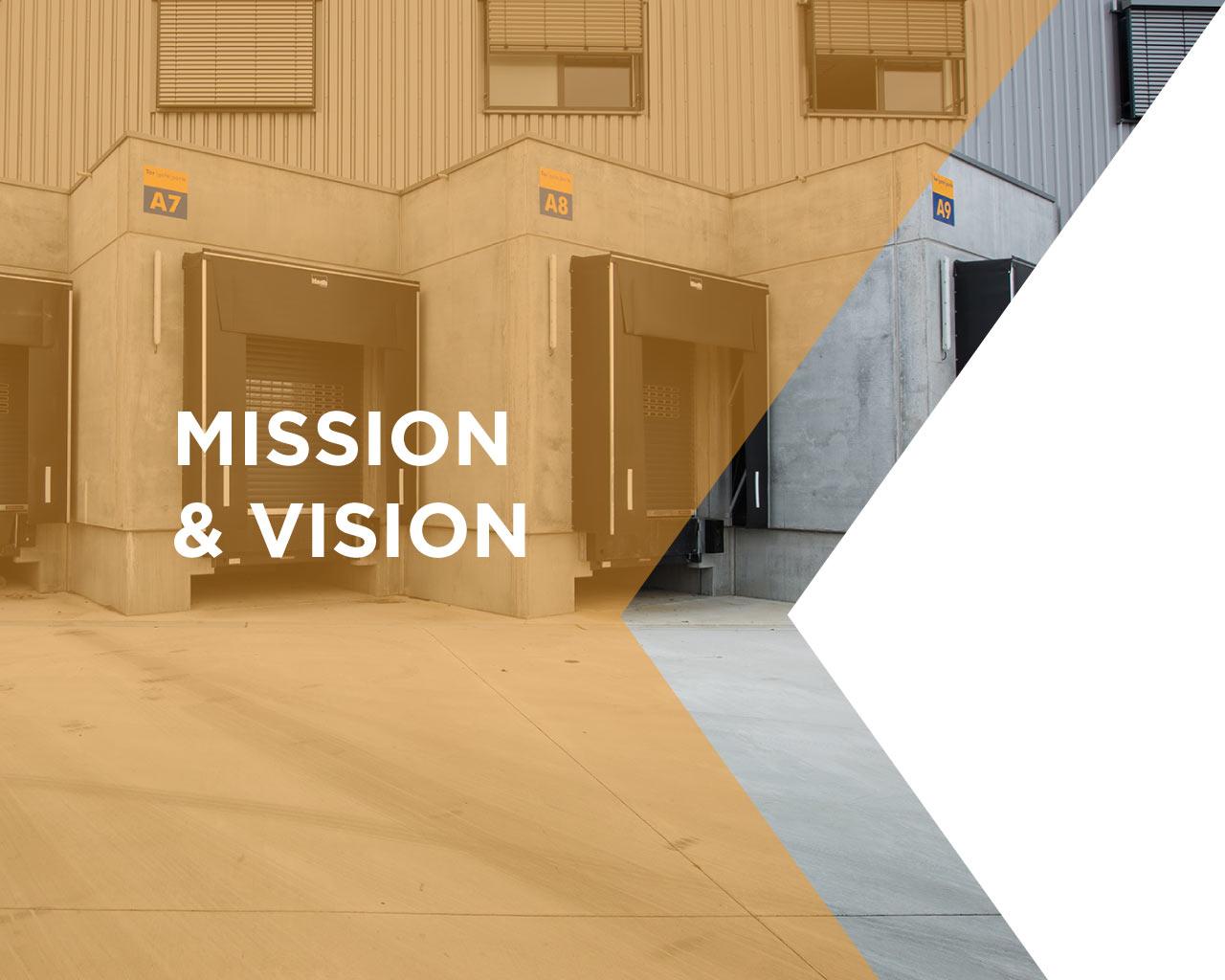 logistics mission and vision
