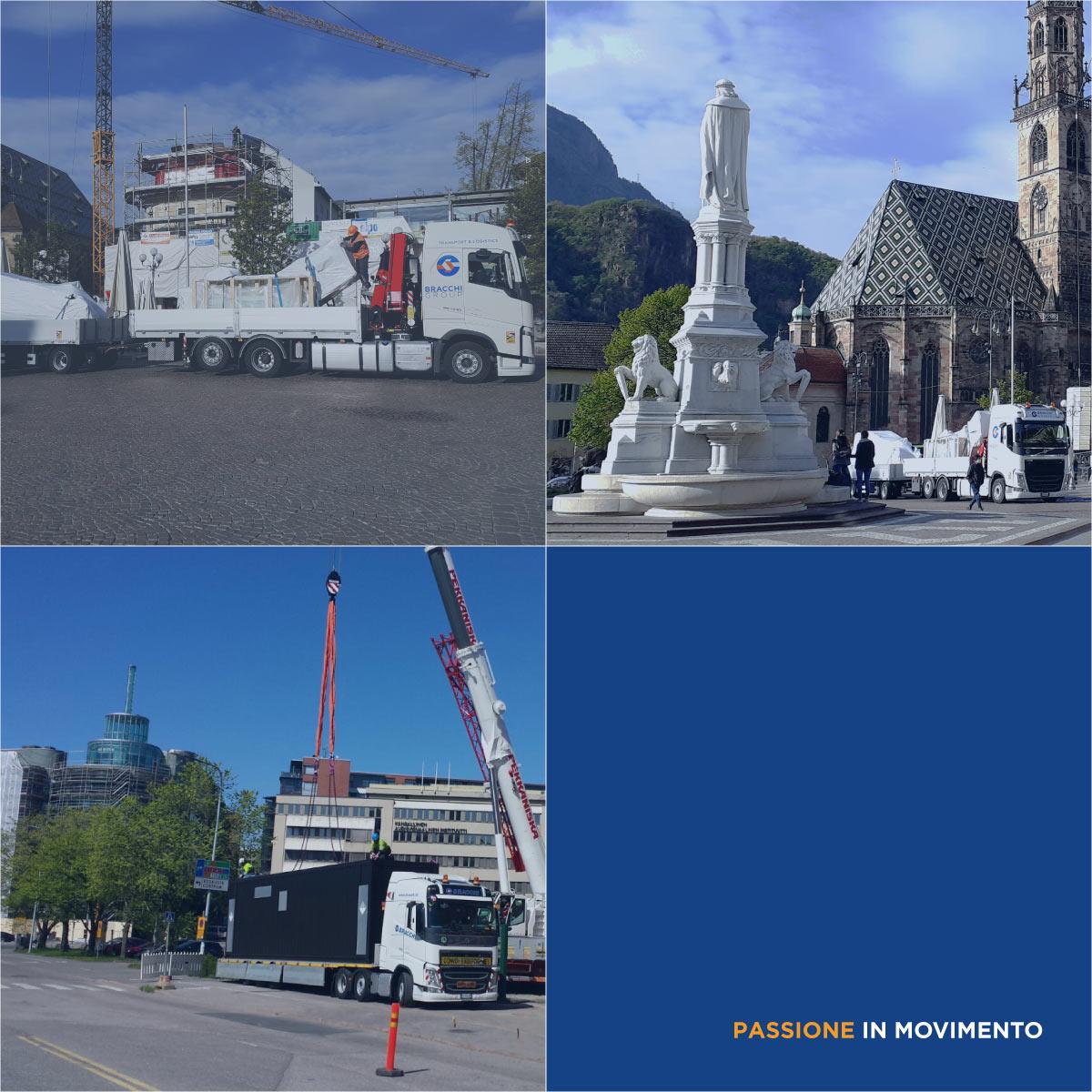 lift industry logistics transports